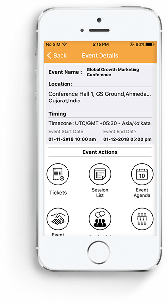 EventsAnywhere for Attendees